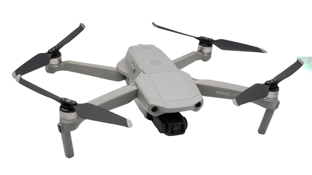 DJI Mavic Air 2 ausgeklappt - Drohne für professionelle Luftaufnahmen
